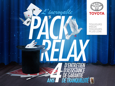 Toyota / Pack Relax